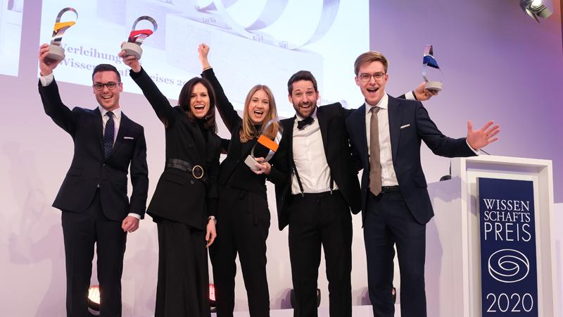 Wissenschaftspreis 2020: The Winners are …